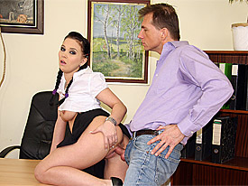 Berndt has found himself a new secretary but her work is not really up to his standards... to put it mildly. He decides to fire her on the spot but th