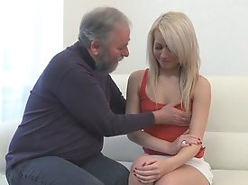 Nona has this old dude eating out of her hand (and out of her pussy).  She loves to fuck the older guys because they have so much more experience than