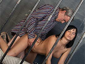 Dana is doing hard time in our local jail but fortunately there is a top lawyer willing to help her out. Gilbert even requests that her handcuffs are